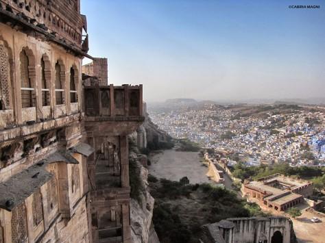 Jodhpur, vista dal Mehrangarh Fort