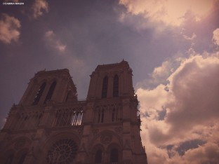 Notre Dame, Paris. Cabiria Magni