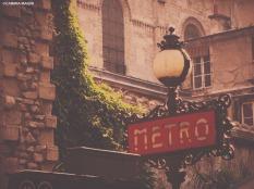 Metro, Paris. Cabiria Magni