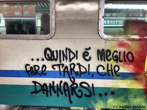 treni saggezza writer