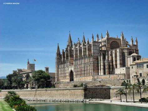 Palma La Seu e Palazzo dell'Almudaina Maiorca cabiria magni