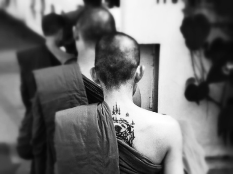 Wat Saket Bangkok monaco tattoo sak yant