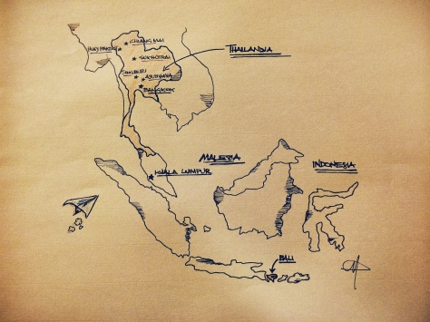 disegno sudest asiatico