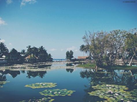 Candidasa Bali laguna Cabiria Magni