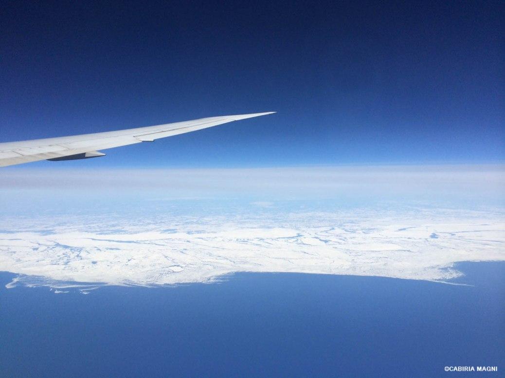 in volo sopra il canada cabiria magni