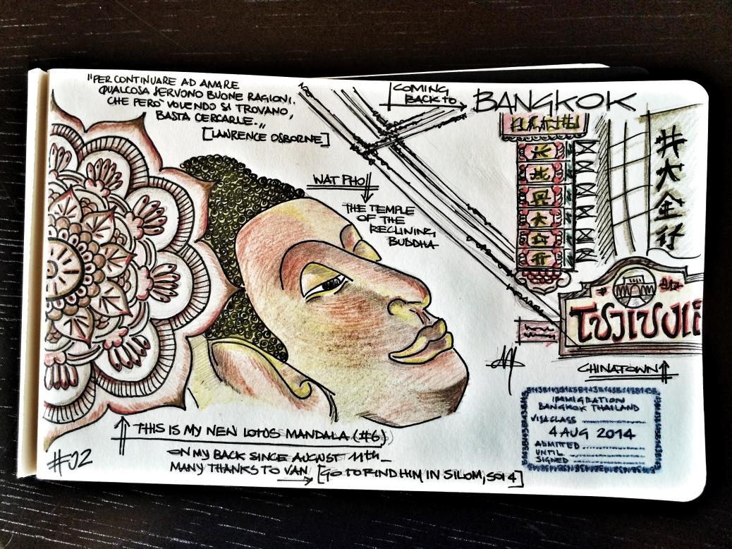 Carnet di viaggio #02 Bangkok Cabiria Magni