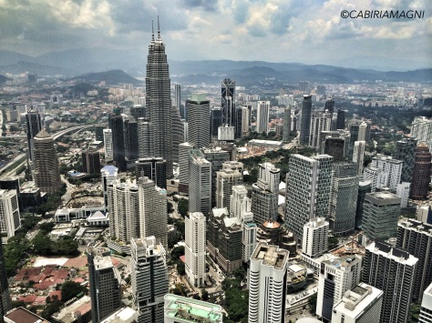 Kuala Lumpur skyline cabiria magni