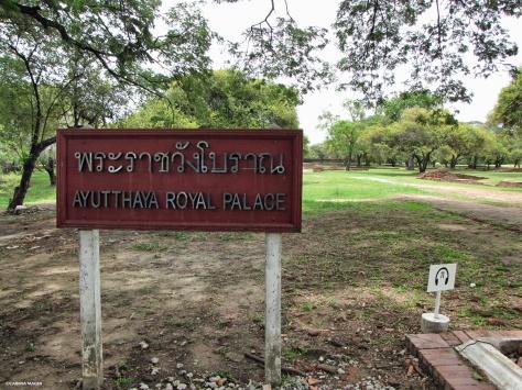 Royal Palace Ayutthaya Cabiria Magni