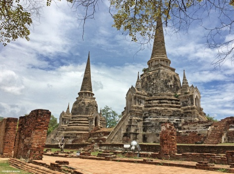 Wat Phra Si Sanpet  Ayutthaya Cabiria Magni