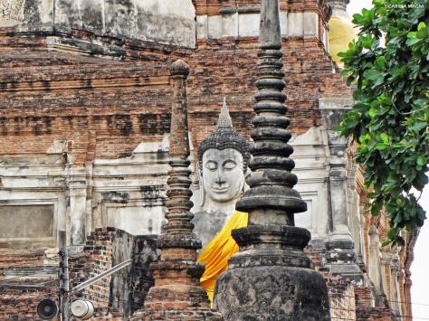 Wat Yai Chai Mongkol Ayutthaya Cabiria Magni