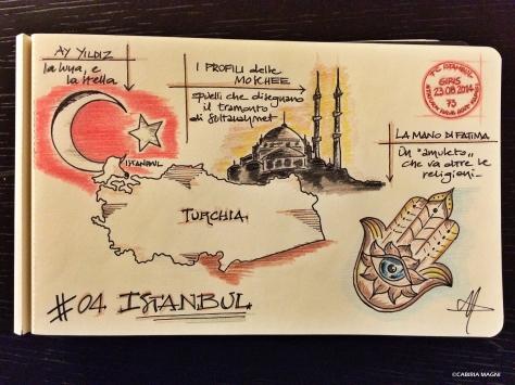 Carnet di Viaggio #04 Istanbul Cabiria Magni