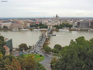 Budapest vista su Pest