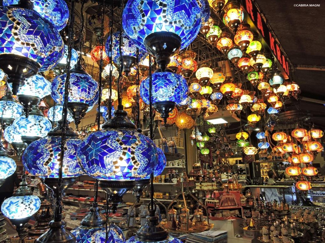Beyoglu la sera Cabiria Magni Istanbul