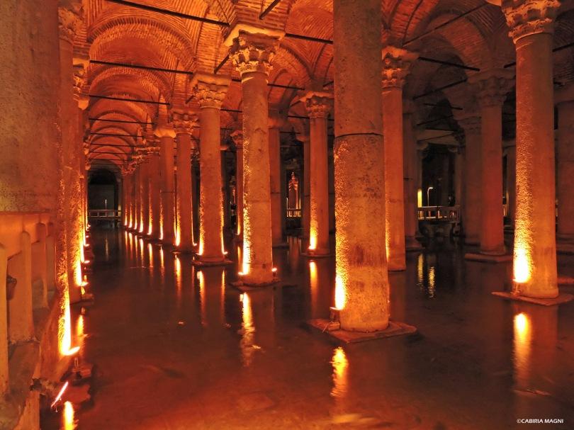 La Basilica Cisterna, Sultanahmet Cabiria Magni Istanbul