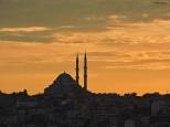 Il tramonto sulla città Cabiria Magni Istanbul