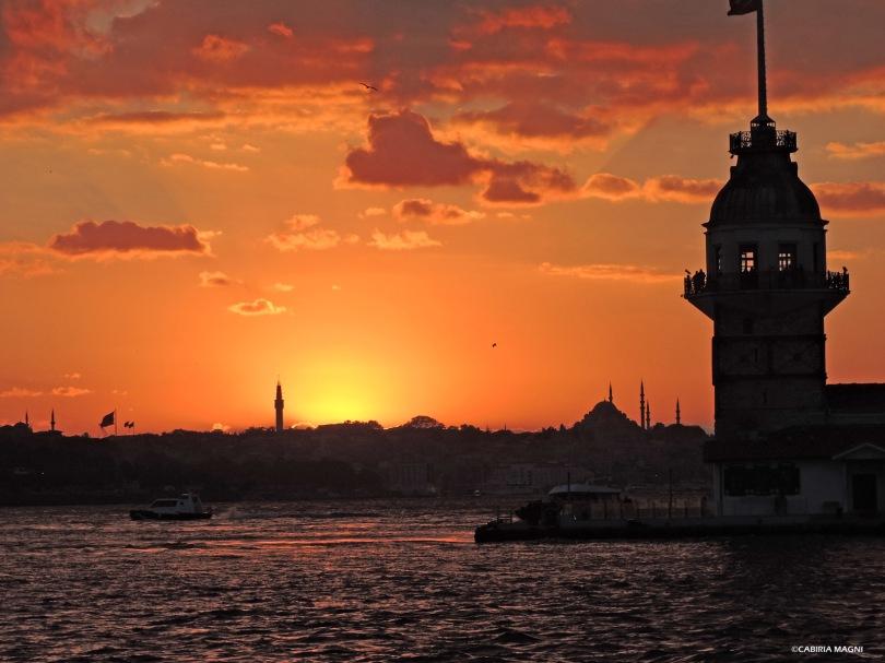 Il tramonto di Salacak Cabiria Magni Istanbul