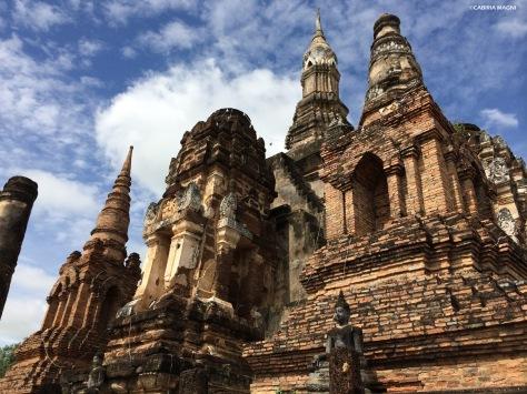Wat Mahathat come Angkor Cabiria Magni Thailandia