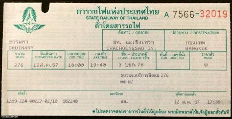biglietto per Chachoengsao, Thailandia