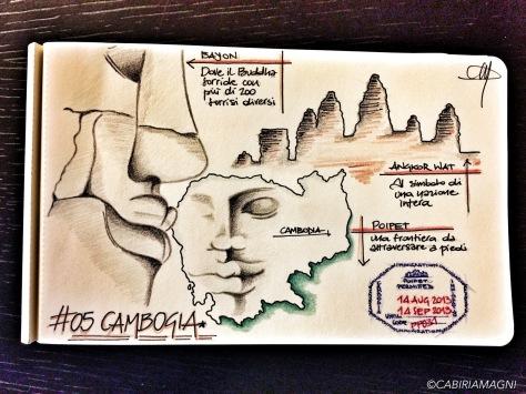 Carnet di Viaggio Cambogia Cabiria Magni