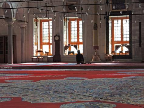Istanbul, Moschea di Fatih, interno