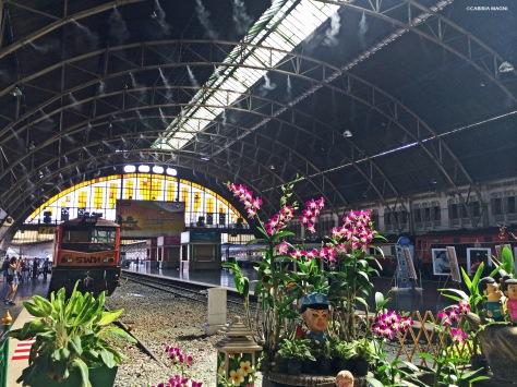 Bangkok, stazione di Hua Lumphong Thailandia