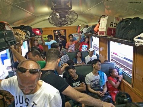 Bangkok - Chachoengsao in treno