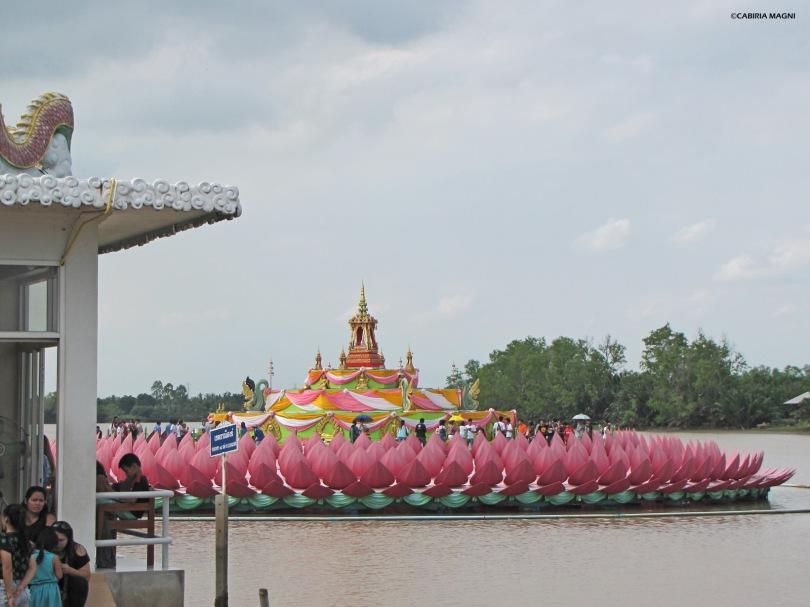 Il loto del Wat Saman Rattanaram