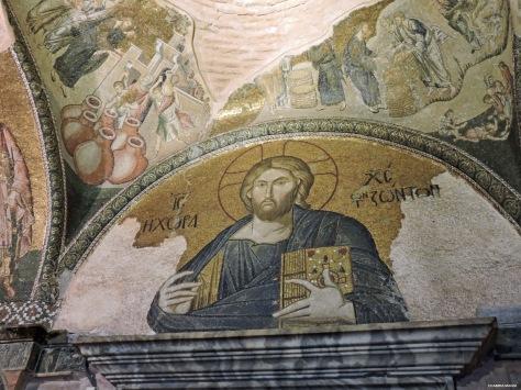 Chora mosaici Istanbul Cabiria Magni