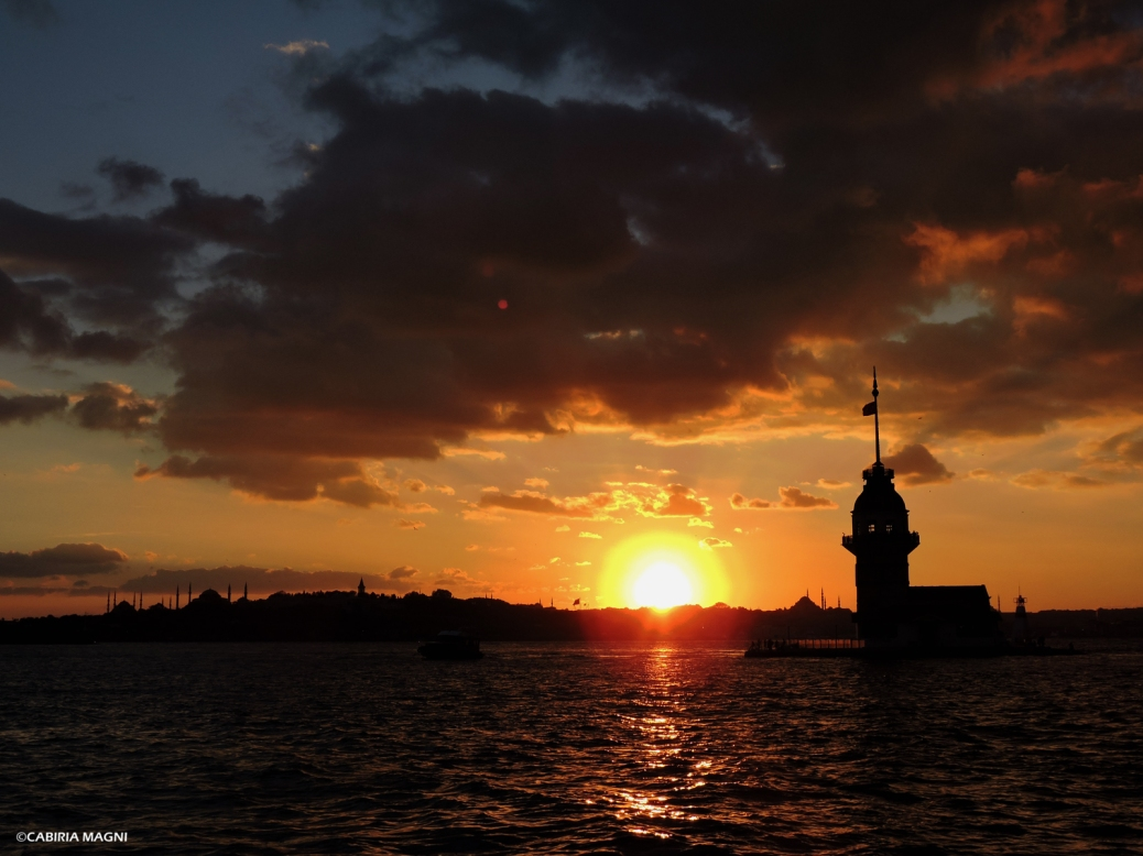 Salacack, tramonto. Istanbul