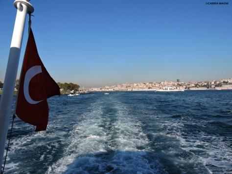 Il battello per l'Asia Istanbul Cabiria Magni