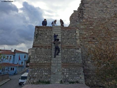 Istanbul mura teodosiane Cabiria Magni