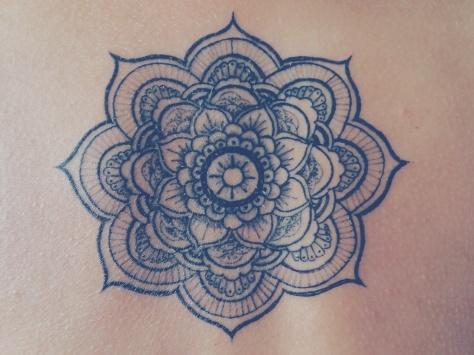 Mandala fiore di loto tattoo VSCOcam