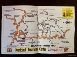 Banaue tour map, Filippine