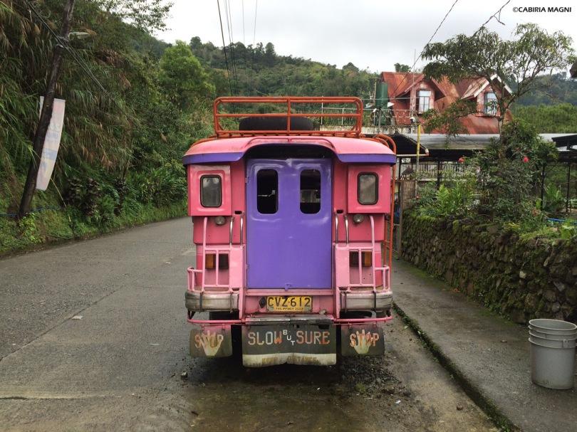 Jeepney in Banaue, Filippine. Cabiria Magni
