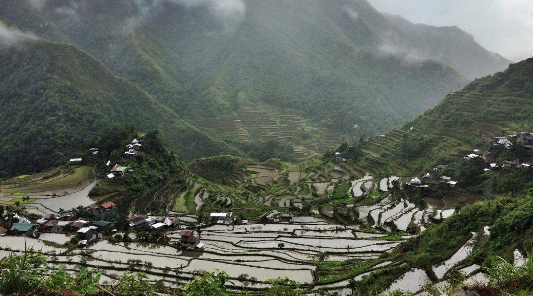 L'anfiteatro delle risaie di Batad: meraviglia.