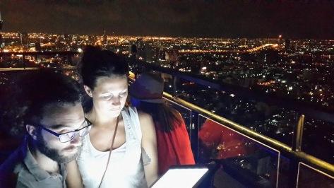 Aperitivo al Vertigo Moon Bar Bangkok