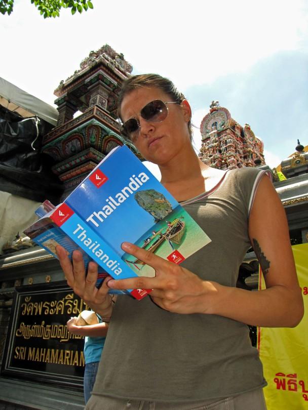 Fuori dal Wat Khaek Bangkok