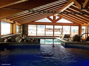La piscina della Spa Lebois.