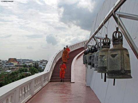 Monaci al Golden Mount. Bangkok, Cabiria Magni