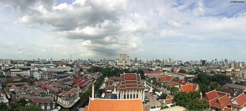Vista dal Golden Mount, Bangkok Cabiria Magni