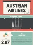 Austrian Airlines - Infografica Cabiria Magni