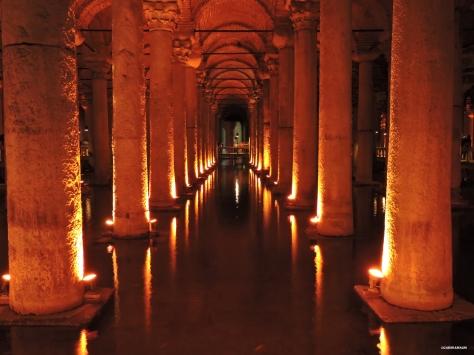 Cisterna Basilica, interno Cabiria Magni Istanbul