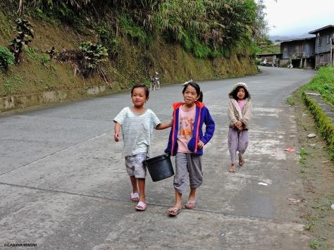 I bambini di Banaue Cabiria Magni