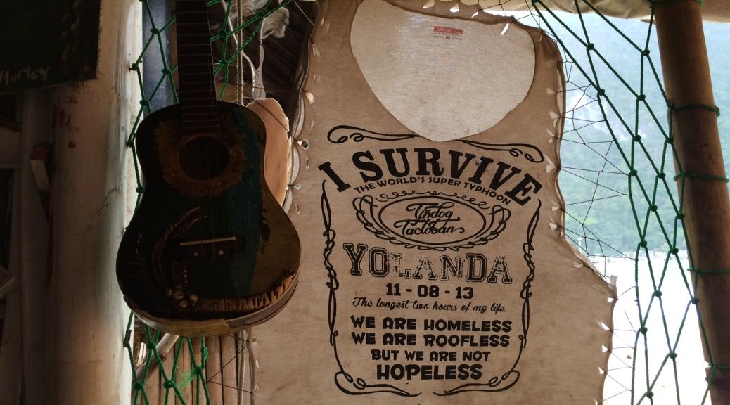 I survive Yolanda Filippine Cabiria Magni