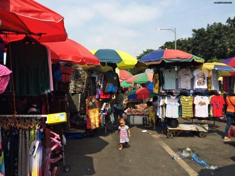 Baclaran, mercato, Cabiria Magni