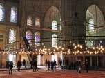 Moschea Blu, interno, Istanbul, Cabiria Magni