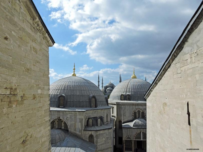 La moschea Blu vista da Hagia Sophia, Istanbul, Cabiria Magni