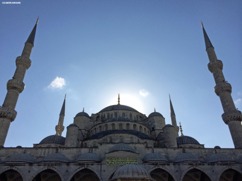 La Moschea Blu Istanbul Cabiria Magni