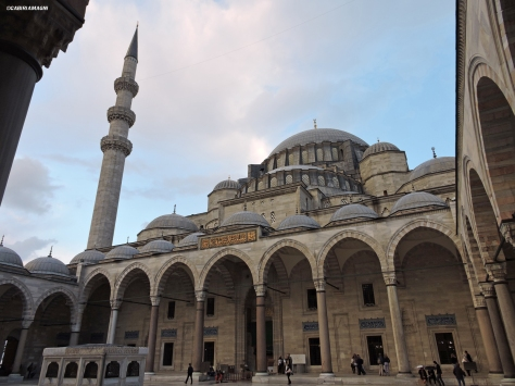 La moschea di Solimano, esterno Cabiria Magni Istanbul