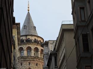 La torre di Galata, Istanbul, Cabiria Magni